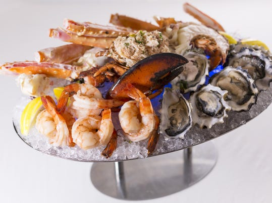 Atlantis Steakhouse_Seafood Tower Cutout
