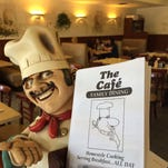 The Cafe's simple dining room has changed little since this Cape Coral restaurant opened 30 years ago.