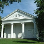 Congregation Beth David in Amenia was recently awarded a state grant for roofing, gutter and leader repair.