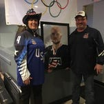 Local communities cheer on Billins family as Winter Olympics begin