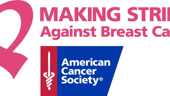 Making Strides Against Breast Cancer walks are being held in Indian River, St. Luce and Martin counties.