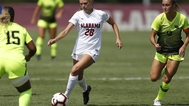 Gigi Schorr and the University of Alabama soccer team will have to wait to begin their 2020 season, after the SEC postponed soccer, cross country and volleyball through Aug. 31.