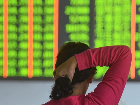 CHINA-ECONOMY-MARKET-STOCKS