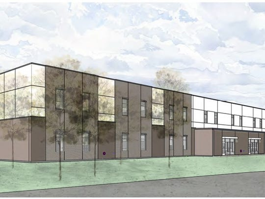 This rendering shows what Billeaud Elementary will look like once completed.