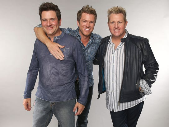 Rascal Flatts will perform at 7:30 p.m. July 16 at