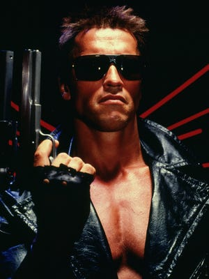 Arnold Schwarzenegger in his original turn as 'The Terminator.'