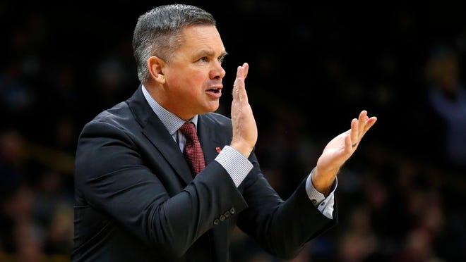 Ohio State head coach Chris Holtmann