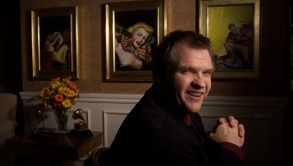 Meat Loaf plays a tour bus driver in 'Spice World,' and references one of his songs.