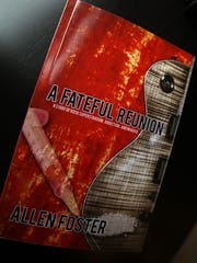 Hanover author Allen Foster wrote a novel, 'A Fateful Reunion' about a fictional famous rock band from Morris county. April 1, 2016. Hanover, N.J.