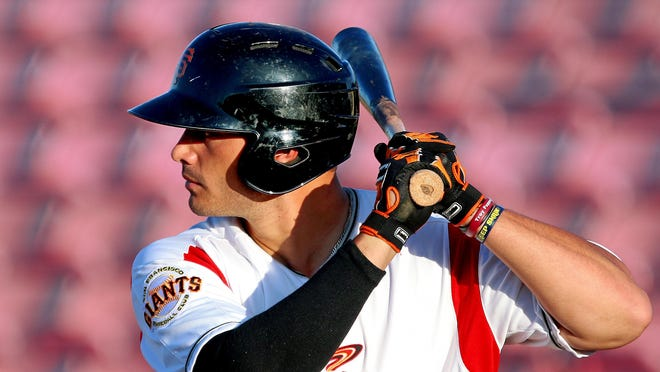 First baseman Chris Shaw hit two homers in his first nine games with the Volcanoes.