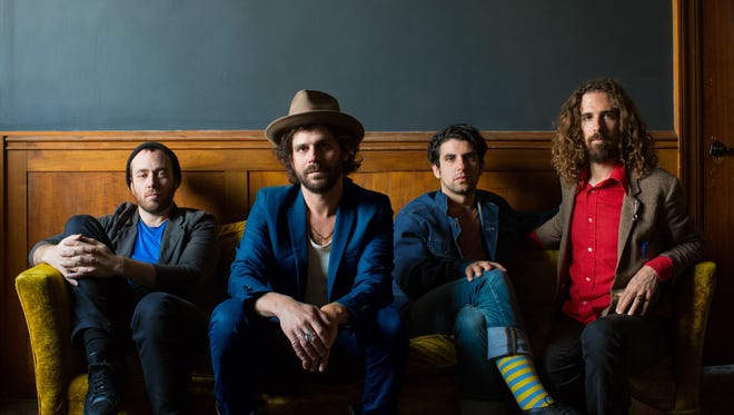Langhorne Slim (second from left) and The Law will play Mercy Lounge Friday and Saturday.