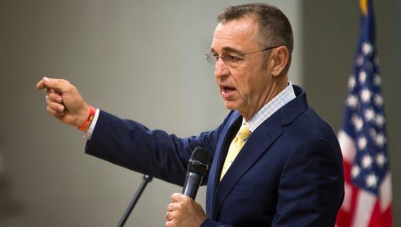 U.S. Rep. Matt Salmon, R-Ariz., has endorsed U.S. Sen.