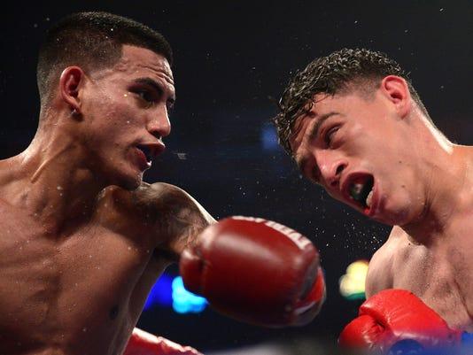 Boxing: Benavidez vs Paez