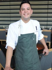 Jacob Coronado, chef at 8UP Elevated Drinkery and Kitchen.
