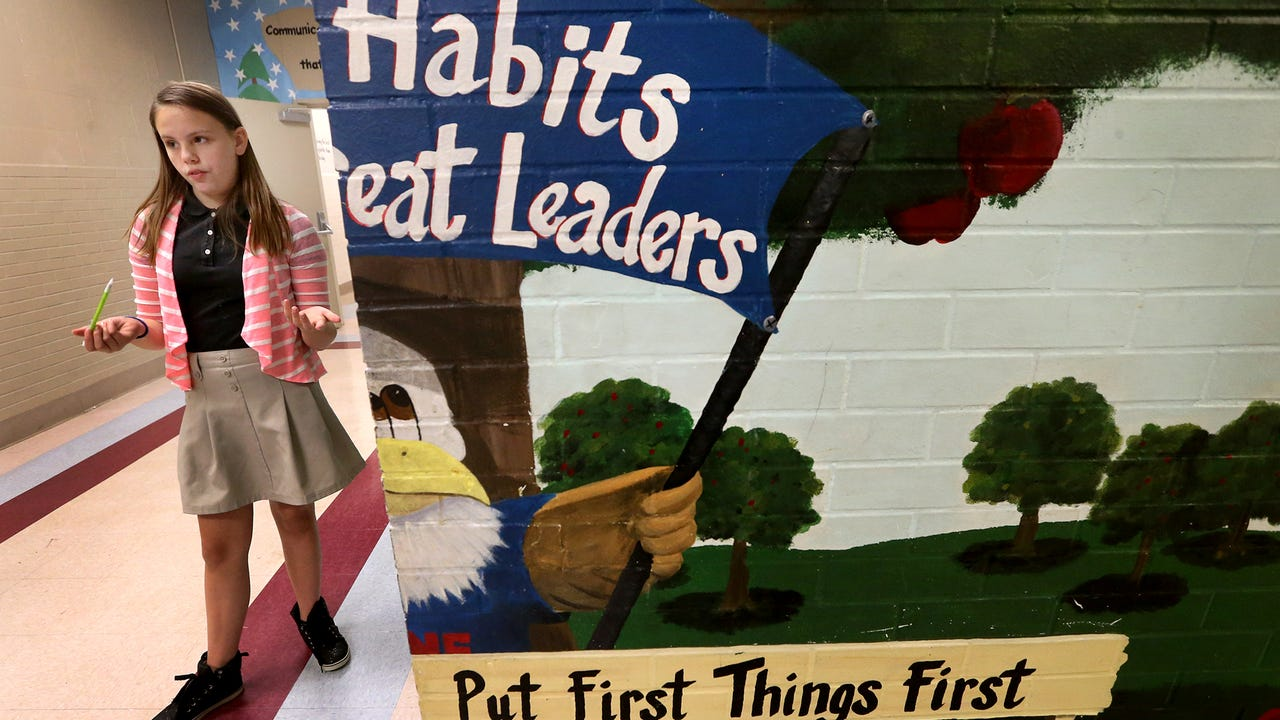 There are habits than make great leaders, that Mitchell Neilson Schools students incorporate in daily all their daily activities.  Four Mitchell Neilson students recite those habits.