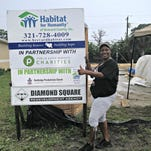 Angela Jordan's completed Habitat for Humanity-built home in Cocoa.