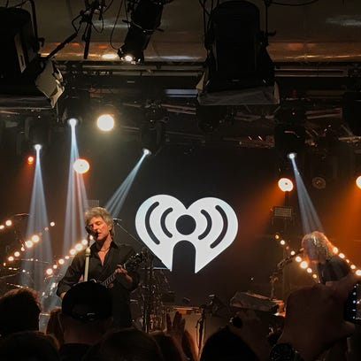 Bon Jovi at the iHeartRadio ICONS with Bon Jovi broadcast