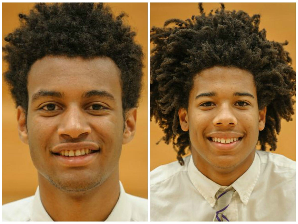 Braxton Key (right) and Tyger Campbell (left) both played basketball for CPA last year.