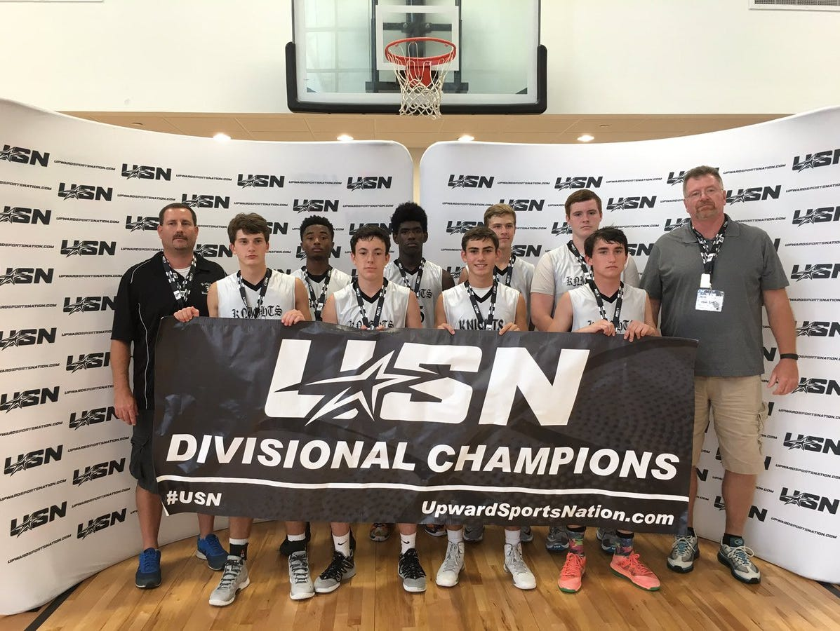 The Kingsport (Tenn.) Knights ninth grade basketball team won the Upward Sports Nation's Battle at Star tournament last weekend in Spartanburg, S.C.