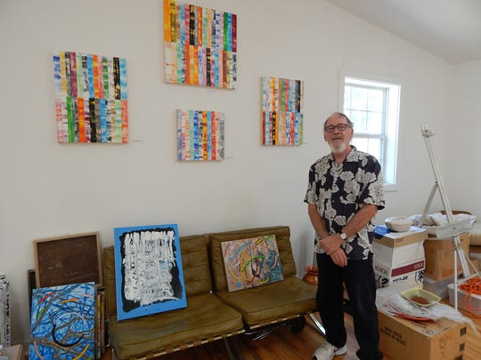 Douglas Stanton was one of the 20 artists featured in Carrizozo over the weekend.