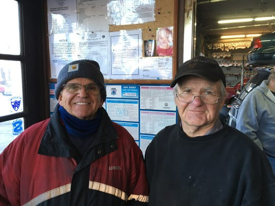 Bruce and George DeGraaf of West Brook Friendly Service of West Milford.