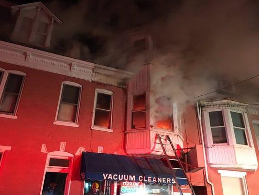 York City Fire 1/31 - 2