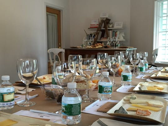 "Cheese tasting event from Mary Connolly of the ""Marie Fromage"" blog."