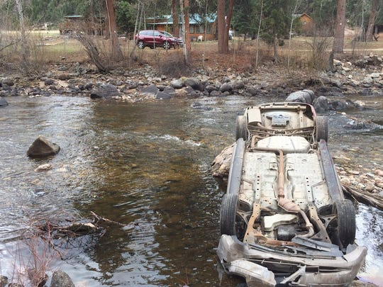 One person has died after a crash in the Poudre Canyon.