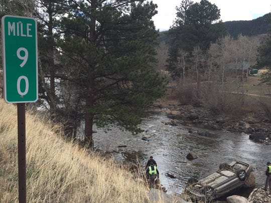 The fatal crash occurred right at mile marker 90, near Rustic.
