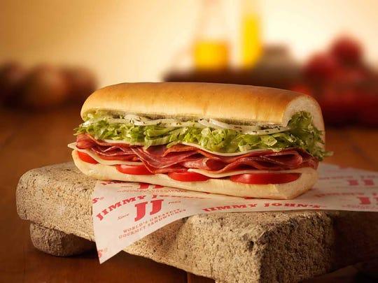 Jimmy John's sub.