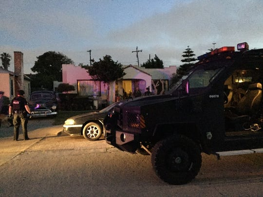 A search warrant operation netted eight arrests in Oxnard on Thursday.