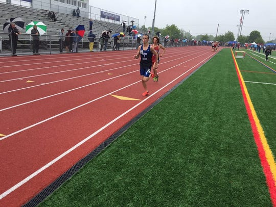 Cedar Crest's Jesse Cruise finished second in his best