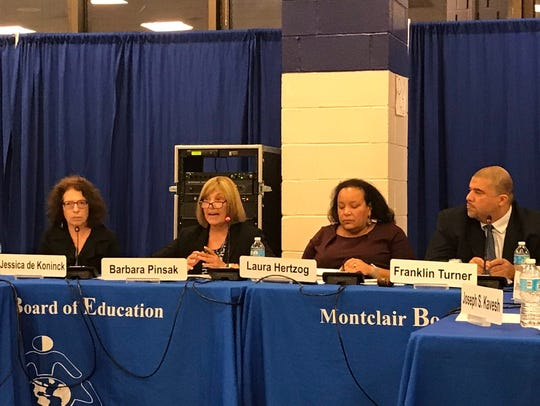 The Montclair Board of Education has as its president Laura Hertzog and vice president in Franklin Turner.