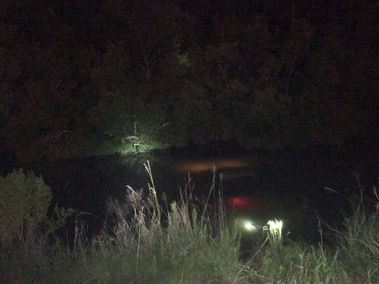 Johnny Williams Jr., was found in the drivers seat of his pickup truck after it was pulled from the water at Lake Hico Saturday night.