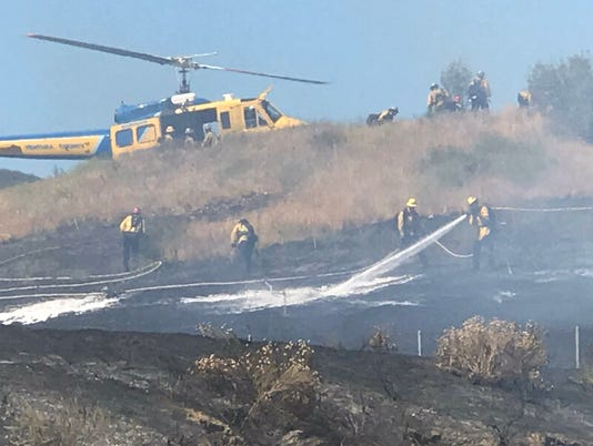 Moorpark fire