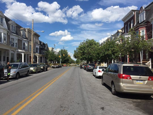 A shooting was reported Tuesday afternoon near the