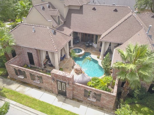 This home is located in the popular River Ranch neighborhood.