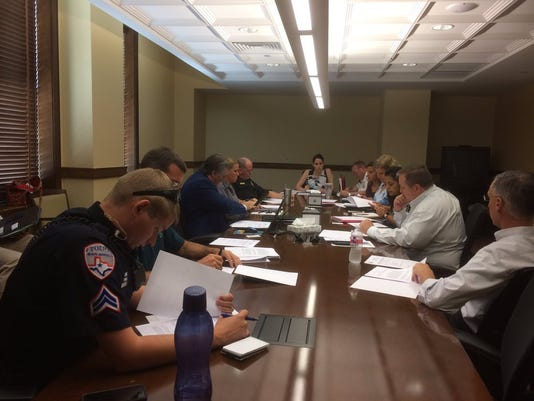 City and Police representatives meet-and-confer