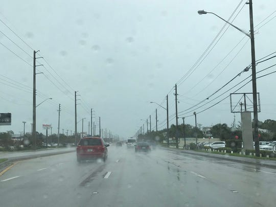 Conditions deteriorating in St. Lucie County as Tropical Storm Emily approaches.