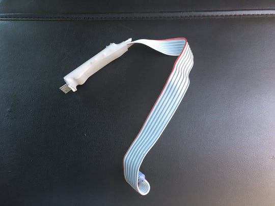 A credit card skimmer was found at Classic Corner in