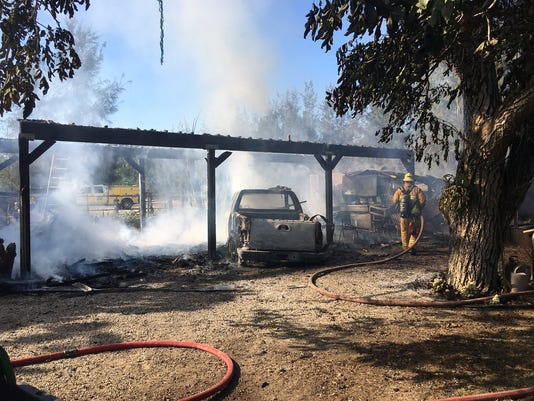 somis carport fire
