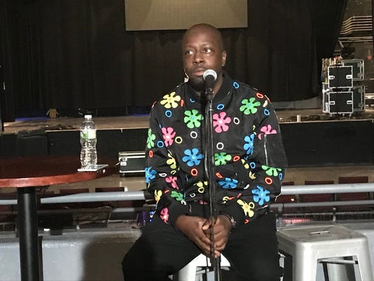 WYCLEF JEAN PRESS CONFERENCE