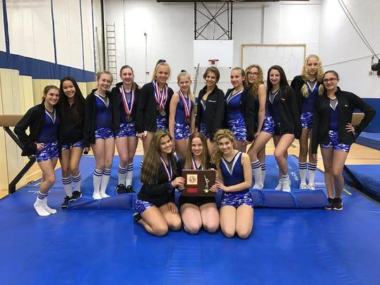 In 2017, Wayne Valley won its second Passaic County gymnastics crown in the last three seasons.