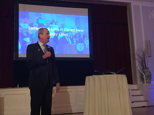 Governor-elect Phil Murphy was of several special guests honored at the New Jersey Working Families Alliance 10th anniversary gala on Thursday.