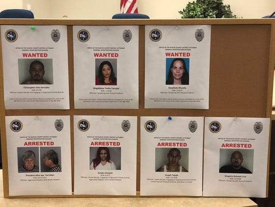Nueces County prosecutors announced new arrests and
