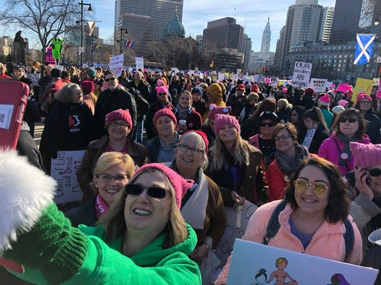 Moving toward #TheOval with #WomensMarchPhilly #speaker