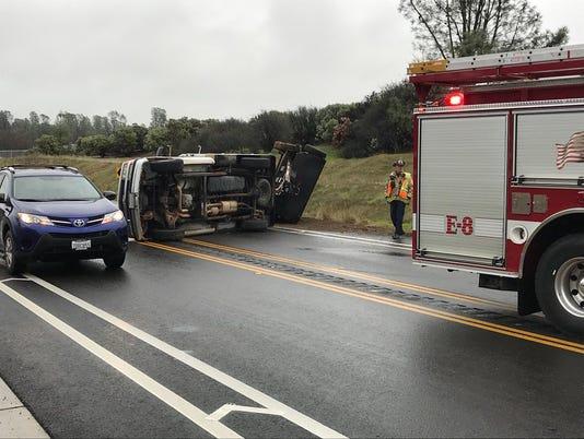crash on Churn Creek Road