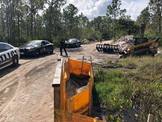 Manhunt underway in north Indian River County Feb.