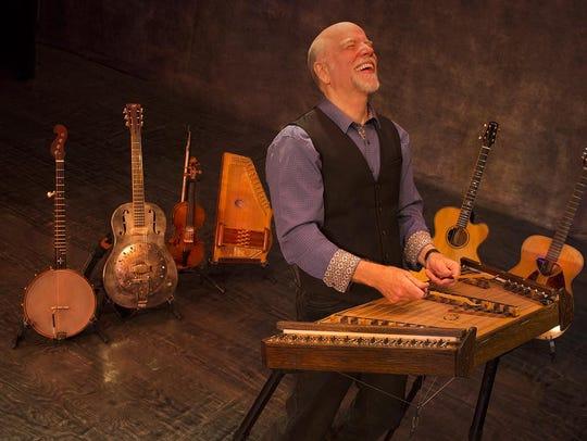 Folk singer/songwriter John McCutcheon performs Friday