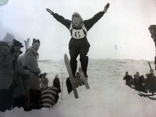 Jane Herte began skiing as a child and enjoyed participating in the sport until she was 76.